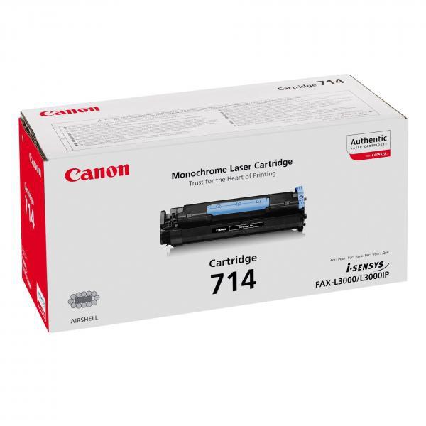 Canon originální toner CRG714, black, 5000str., 1153B002, Canon MF-65xx