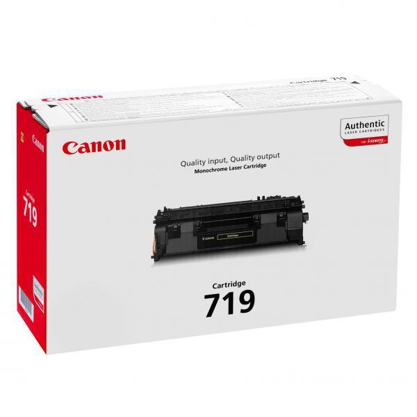 Canon originální toner CRG719, black, 2100str., 3479B002, Canon LBP-6300dn,6650dn,MF 5840dn,5880dn,5980dw,5940dn