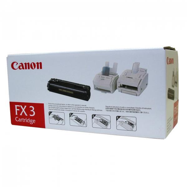 Canon originální toner FX3, black, 2700str., 1557A003, Canon L-300, 350, 260i, 280, 300, Multipass L-90, 60