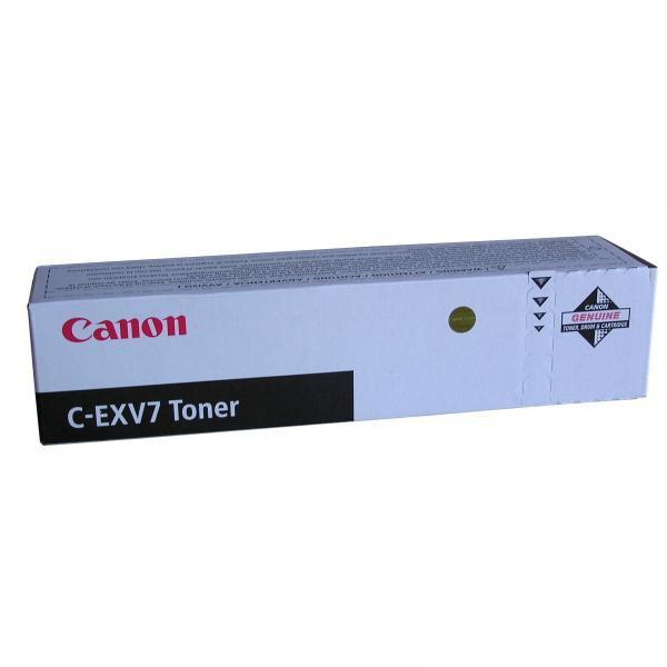 Canon originální toner CEXV7, black, 5300str., 7814A002, Canon iR-1210, 1230, 1270, 1510, 1530