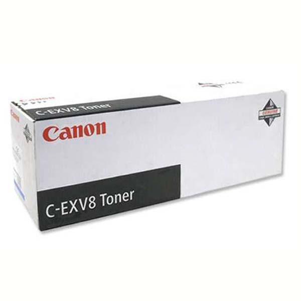 Canon originální toner CEXV8, black, 25000str., 7629A002, Canon iR-C, CLC-3200, 2620N, 530g