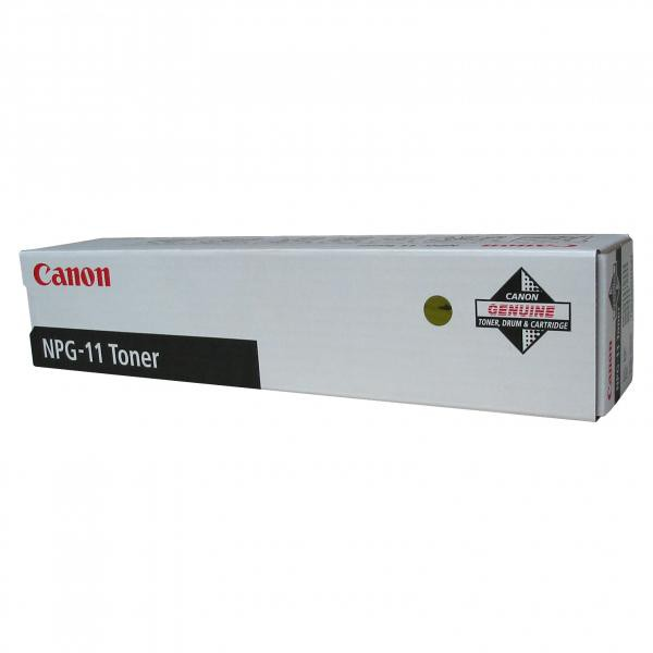 Canon originální toner NPG11, black, 5000str., 1382A002, Canon NP-6012, 6112, 6212, 6312, 6512, 6612, 280g