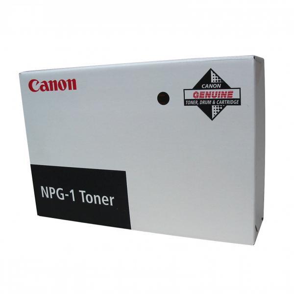Canon originální toner NPG1, black, 15200str., 1372A005, Canon NP-1015, 1550, 2020, 6020, 6220, 6216, 6317, 4x190g