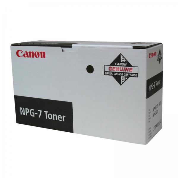 Canon originální toner NPG7, black, 10000str., 1377A003, Canon NP-6025, 6030, 6330, 500g