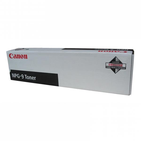 Canon originální toner NPG9, black, 15200str., 1379A003, Canon NP-6521, 6621, 6016, 6218, 2x380g