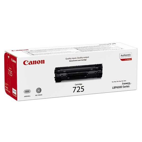 Canon originální toner CRG725, black, 1600str., 3484B002, Canon LBP-6000, 6020, 6020b