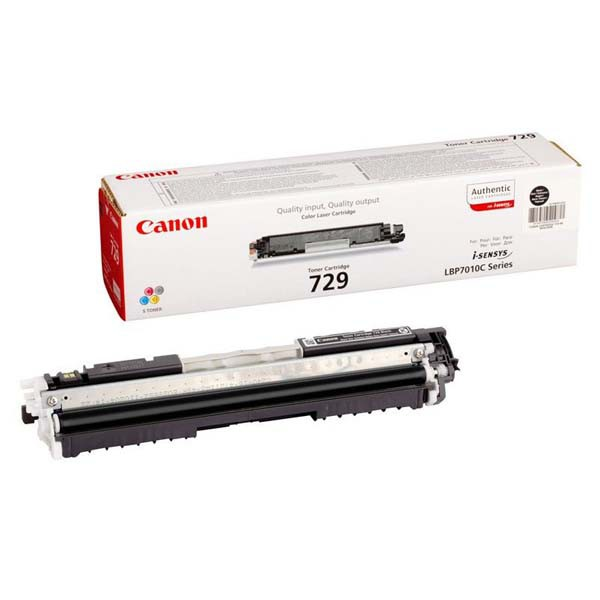 Canon originální toner CRG729, black, 1200str., 4370B002, Canon LBP-7010, 7018