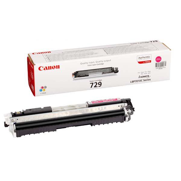 Canon originální toner CRG729, magenta, 1000str., 4368B002, Canon LBP-7010, 7018
