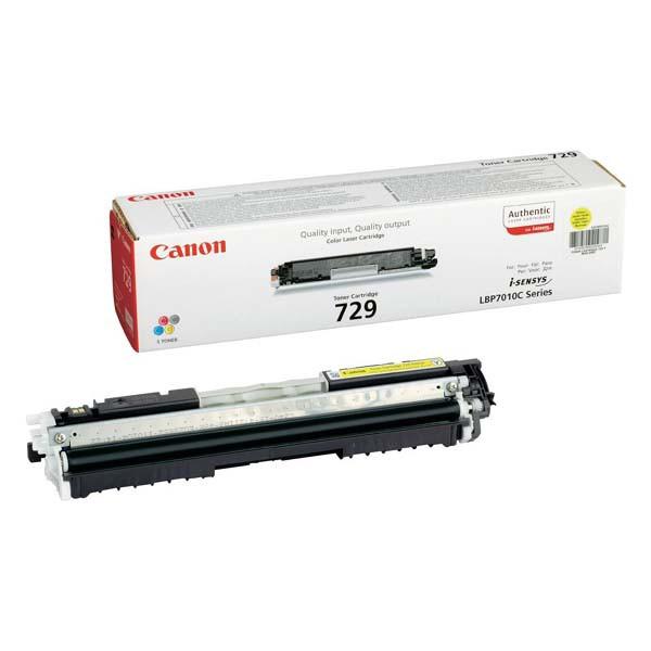 Canon originální toner CRG729, yellow, 1000str., 4367B002, Canon LBP-7010, 7018