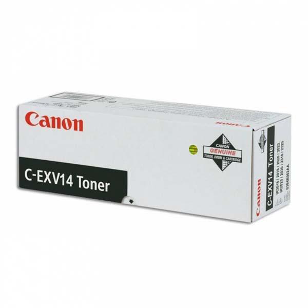 Canon originální toner s CEXV14, black, 8300str., 0384B006, pro Canon iR-2016, 2018, 2020i, 2022, 460g, 1ks v balení