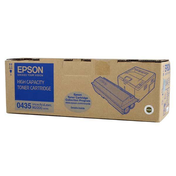 Epson originální toner C13S050435, black, 8000str., high capacity, Epson AcuLaser M2000D, 2000DN, 2000DT, 2000DTN