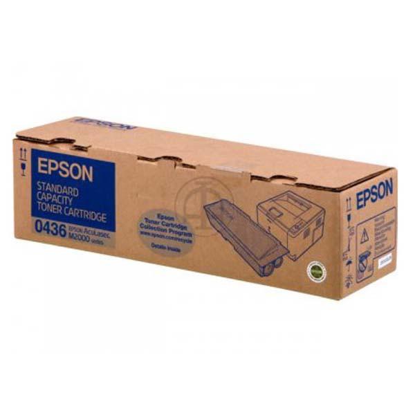 Epson originální toner C13S050436, black, 3500str., Epson AcuLaser M2000D, 2000DN, 2000DT, 2000DTN