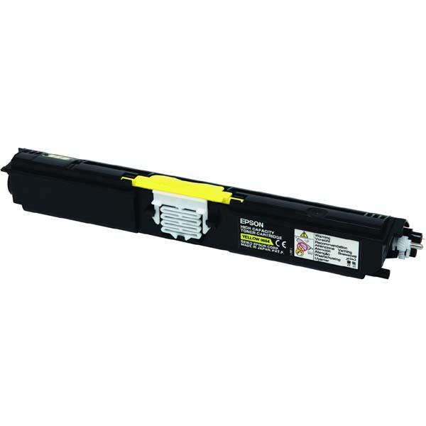 Epson originální toner C13S050554, yellow, 2700str., return, Epson AcuLaser C1600, CX16