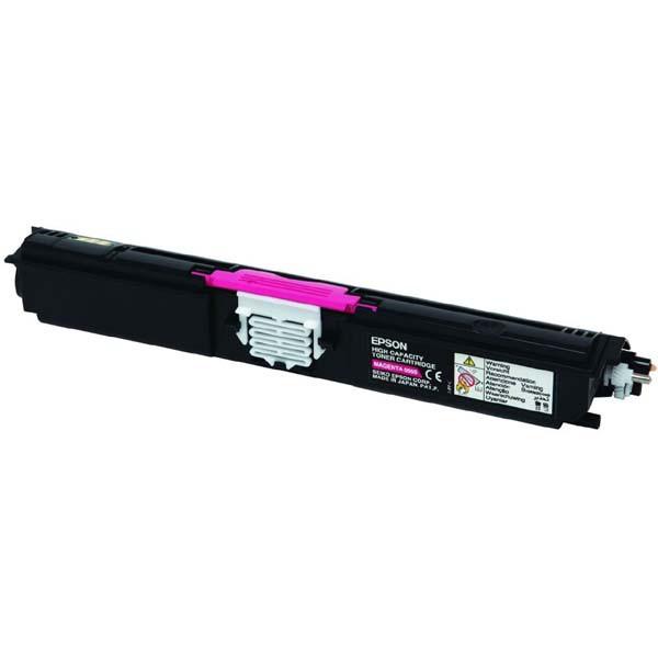 Epson originální toner C13S050555, magenta, 2700str., return, Epson AcuLaser C1600, CX16
