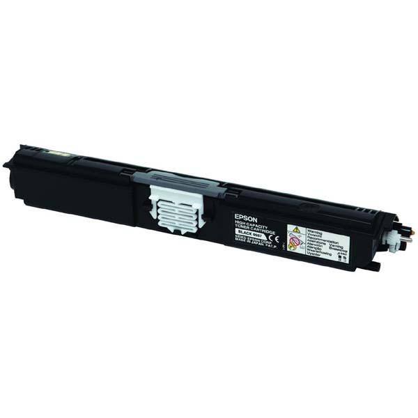 Epson originální toner C13S050557, black, 2700str., return, Epson AcuLaser C1600, CX16