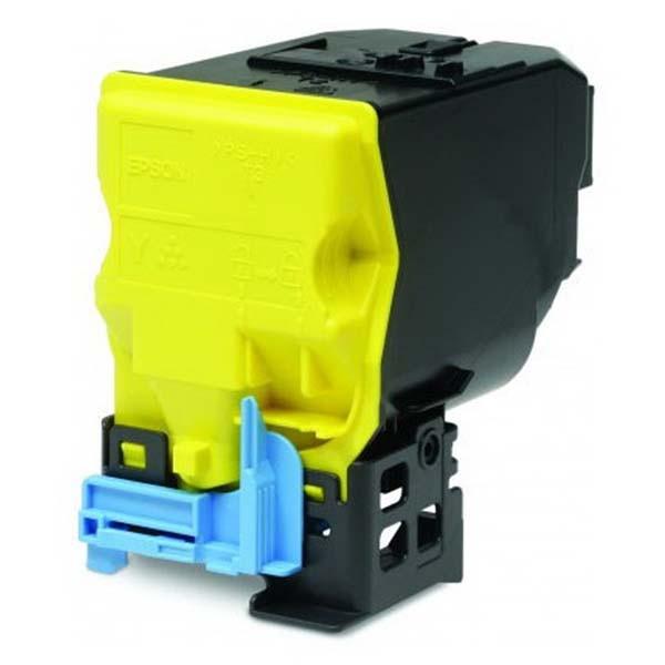 Epson originální toner C13S050590, yellow, 6000str., Epson AcuLaser C3900N