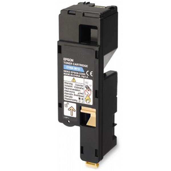 Epson originální toner C13S050613, cyan, 1400str., high capacity, Epson Aculaser C1700