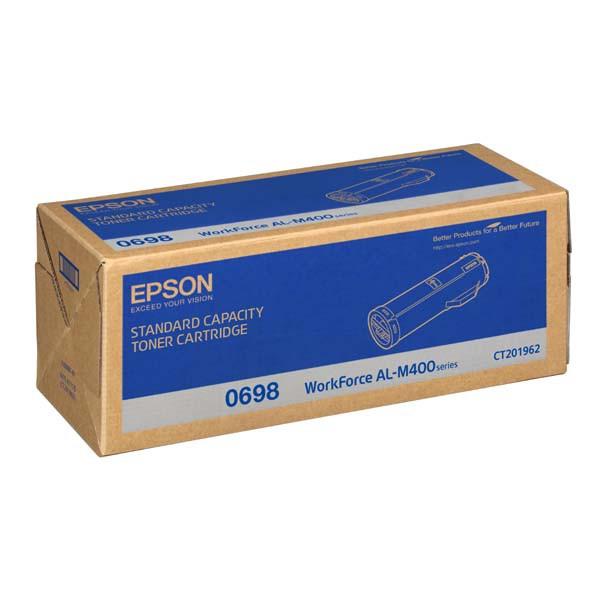 Epson originální toner C13S050698, black, 12000str., Epson Aculaser M400DN