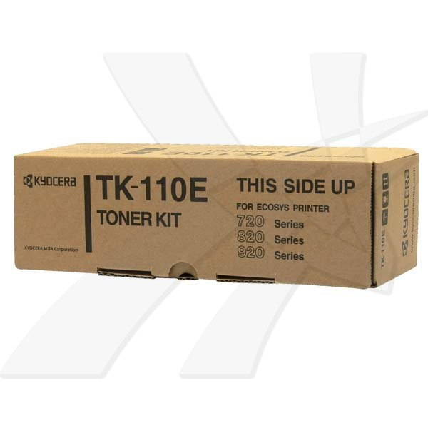 Kyocera originální toner TK110E, black, 2000str., 1T02FV0DE1, Kyocera FS-720, 820, 920