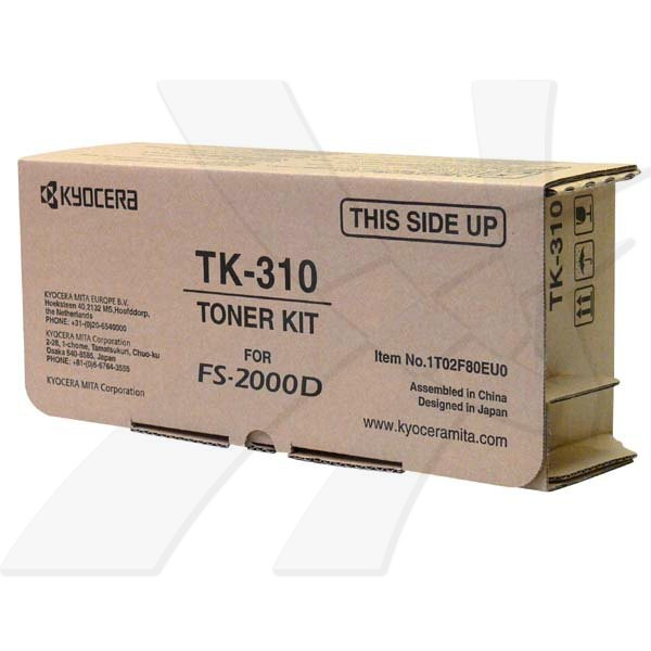 Kyocera originální toner TK310, black, 12000str., 1T02F80EU0, Kyocera FS-2000D, DN, 3900DN, 4000DN