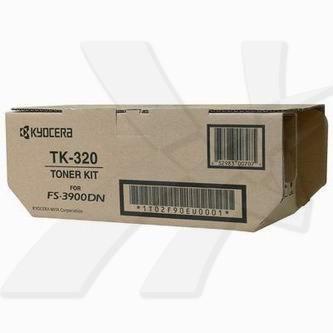 Kyocera originální toner TK320, black, 15000str., 1T02F90EU0, Kyocera FS-3900DN, 4000DN