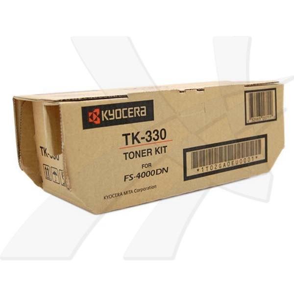 Kyocera originální toner TK330, black, 20000str., 1T02GA0EU0, Kyocera FS-4000