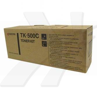 Kyocera originální toner TK500C, cyan, 8000str., Kyocera FS-C5016N