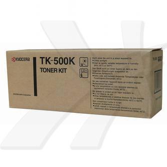 Kyocera originální toner TK500K, black, 8000str., Kyocera FS-C5016N