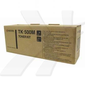 Kyocera originální toner TK500M, magenta, 8000str., Kyocera FS-C5016N