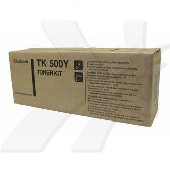 Kyocera originální toner TK500Y, yellow, 8000str., Kyocera FS-C5016N