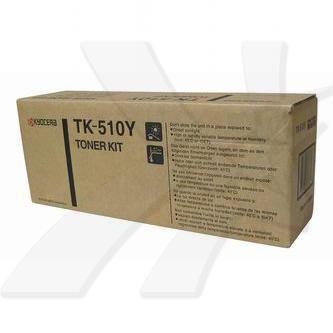 Kyocera originální toner TK510Y, yellow, 8000str., 1T02F3AEU0, Kyocera FS-C5020N