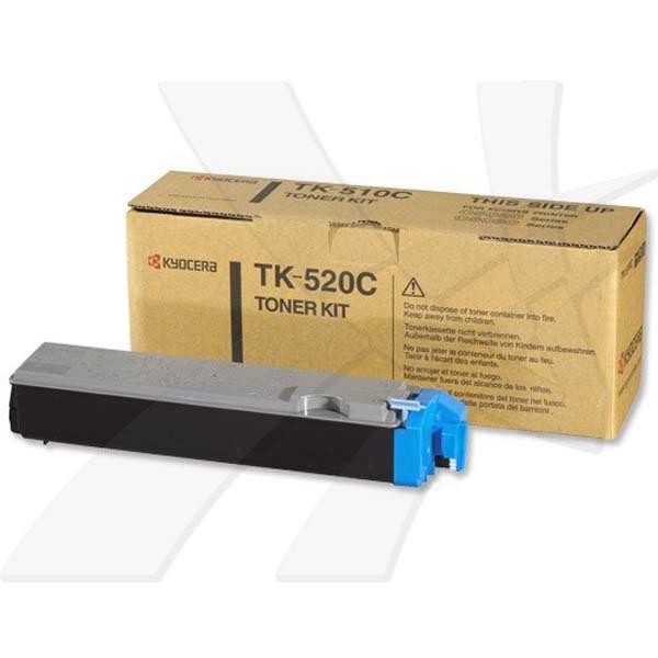 Kyocera originální toner TK520C, cyan, 4000str., 1T02HJAEU0, Kyocera FS-C5015N