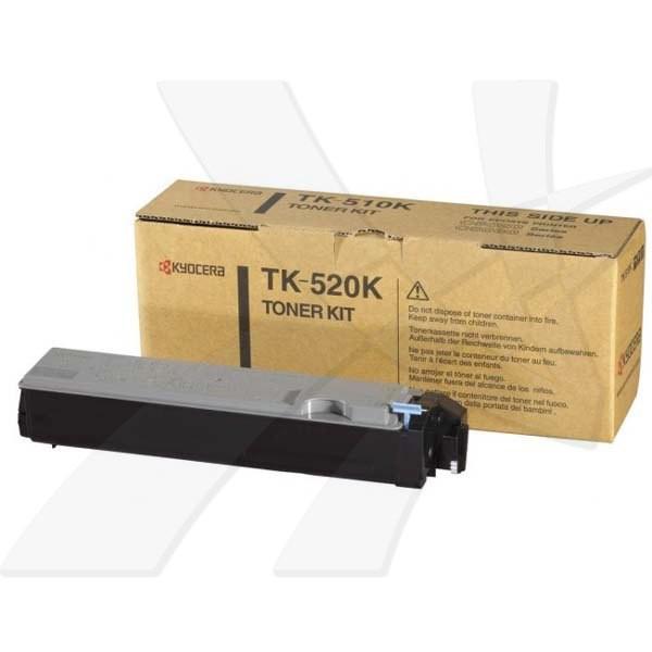 Kyocera originální toner TK520K, black, 6000str., 1T02HJ0EU0, Kyocera FS-C5015N