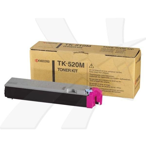 Kyocera originální toner TK520M, magenta, 4000str., 1T02HJBEU0, Kyocera FS-C5015N