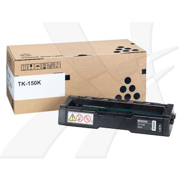 Kyocera originální toner TK150K, black, 6500str., 1T05JK0NL0, Kyocera FS-C1020MFP