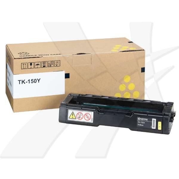 Kyocera originální toner TK150Y, yellow, 6000str., 1T05JKANL0, Kyocera FS-C1020MFP