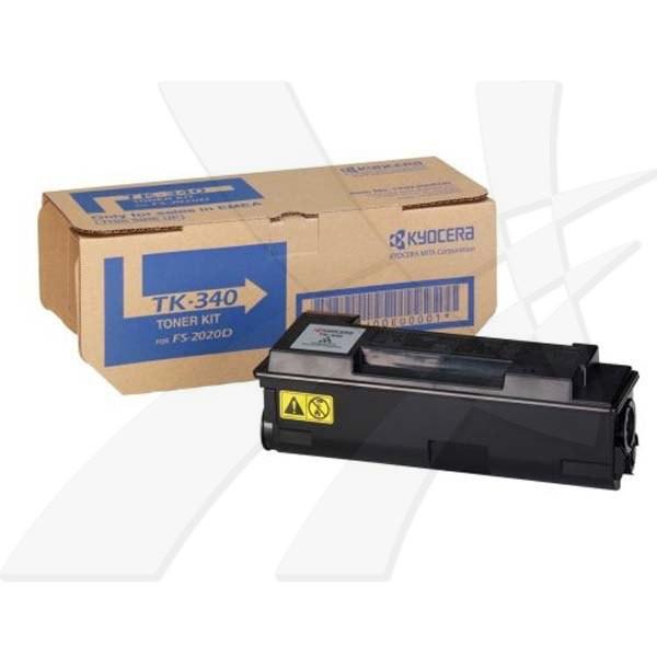 Kyocera originální toner TK340, black, 12000str., 0T2J00EU, Kyocera FS-2020D