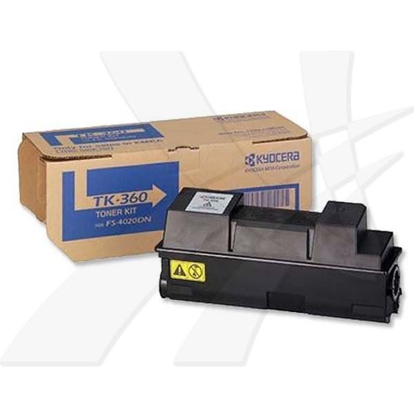 Kyocera originální toner TK360, black, 20000str., 1T02J20EU0001, Kyocera FS-4020DN