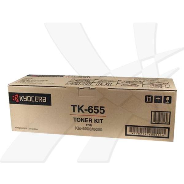 Kyocera Mita TK-655 - originální, black, 47000 stran