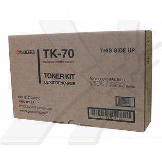 Kyocera originální toner TK70, black, 40000str., 370AC010, Kyocera FS-9100, 9120, 9500, 9520