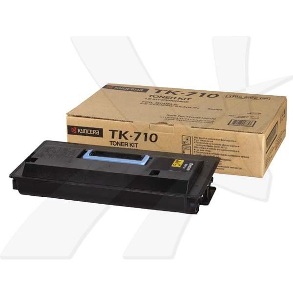 Kyocera originální toner TK-710, 1T02G10EU0, black, 40000str., Kyocera FS-Serie 9130, 9130 DN, 9130 DN