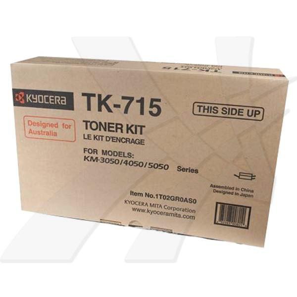 Kyocera originální toner TK715, black, 34000str., 1T02GR0EU0, Kyocera FS-3050, 4050, 5050