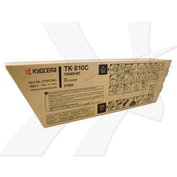 Kyocera originální toner TK810C, cyan, 20000str., 370PC5KL001, Kyocera FS-C8026N