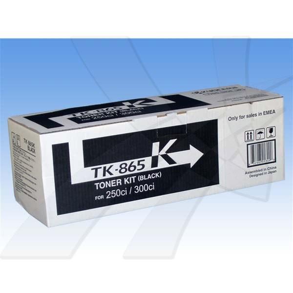 Kyocera originální toner TK865K, black, 20000str., 1T02JZ0EU0, Kyocera 250Ci/300Ci