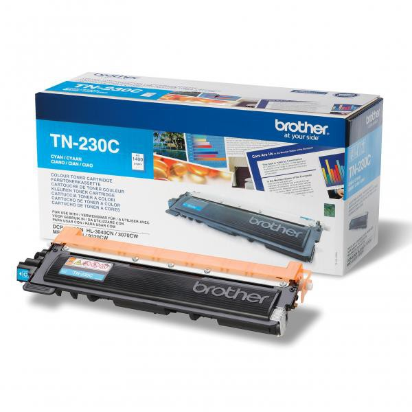 Brother originální toner TN230C, cyan, 1400str., Brother HL-3040CN, 3070CW, DCP-9010CN, 9120CN, MFC-9320CW