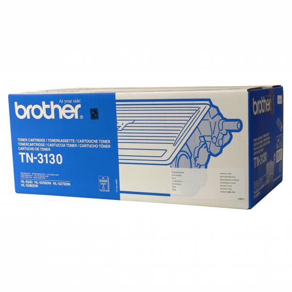 Brother originální toner TN3130, black, 3500str., Brother HL-5240, 5050DN, 5270DN, 5280DW