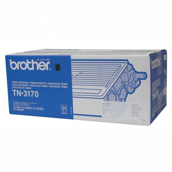 Brother originální toner TN3170, black, 7000str., Brother HL-5240, 5250DN, 5270DN, 5280DW