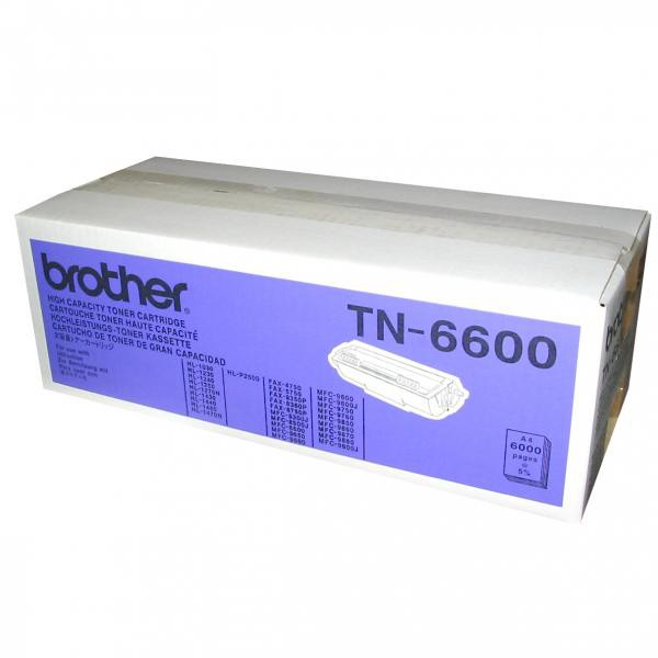 Brother originální toner TN6600, black, 6000str., Brother HL-1240, 1250, 1270N, 1440, MFC-9650, 9850
