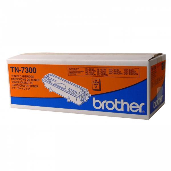 Brother originální toner TN7300, black, 3300str., Brother HL-1650, 1670N, 1850, 1870