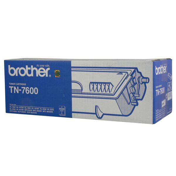 Brother originální toner TN7600, black, 6500str., Brother HL-1650, 1670N, 1850, 1870